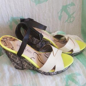 Sam and Libby wedge heels 8